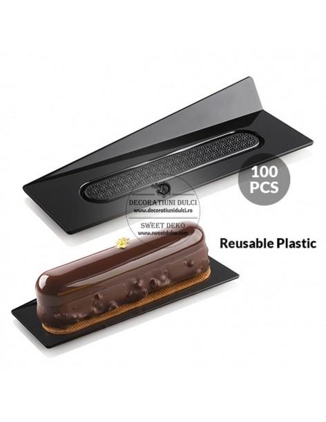 Set 100 Black Trays...