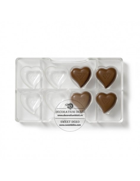 Heart shaped mold for...