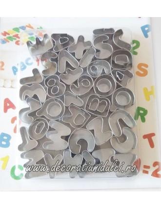 Decupatoare metal letters...