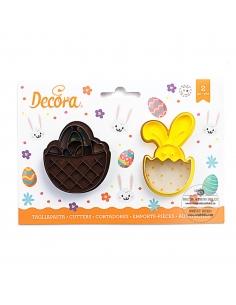 Basket and Bunny Plastic...