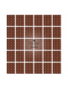Milk Chocolate Bar 4x3cm...
