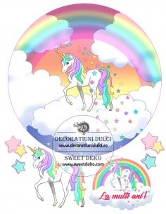 Unicorn edible image heirloom