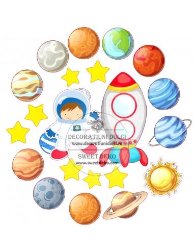 Imagine comestibila Micul Astronaut