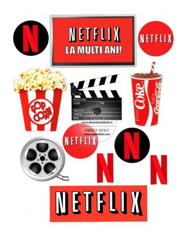 Imagine comestibila Netflix Lovers