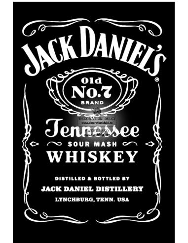 Imagine comestibila Eticheta Jack...