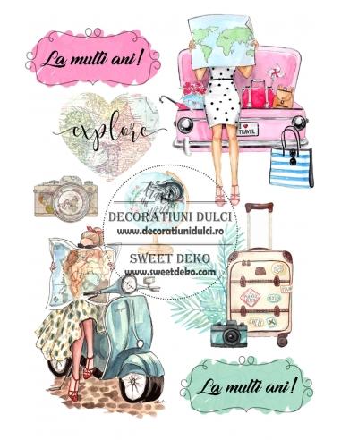 I Love to Travel - Imagine comestibila