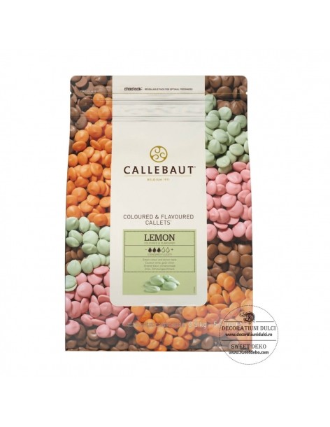 Lemon Callets Barry Callebaut