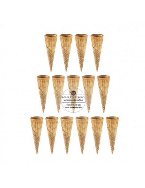 Mini ice cream cones (15 pcs)