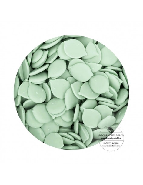 Candy Melts Verde, cu gust...