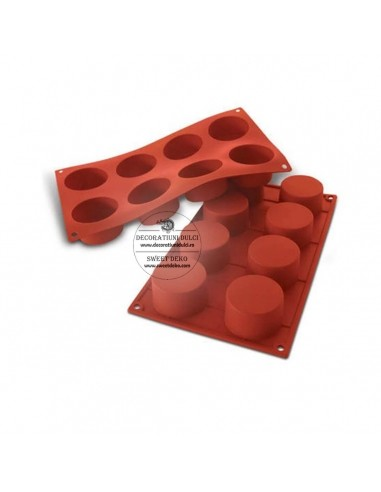 Cylindrical silicone mold -...
