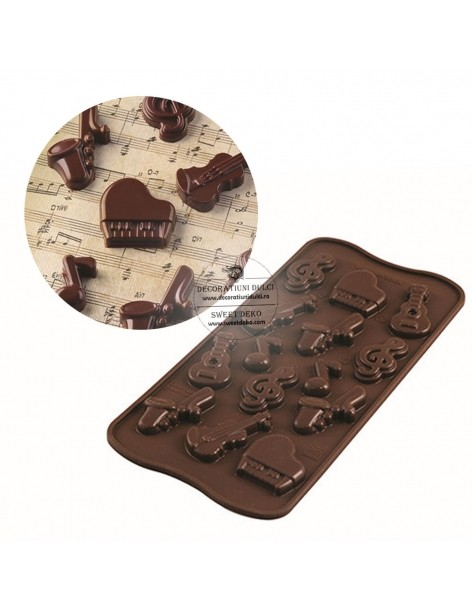 Choco Mold Melody SCG43...