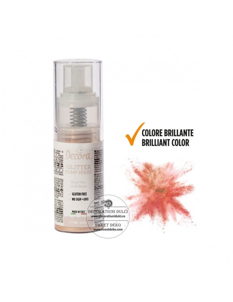 Gold Rose Sprakling Color Pump Spray