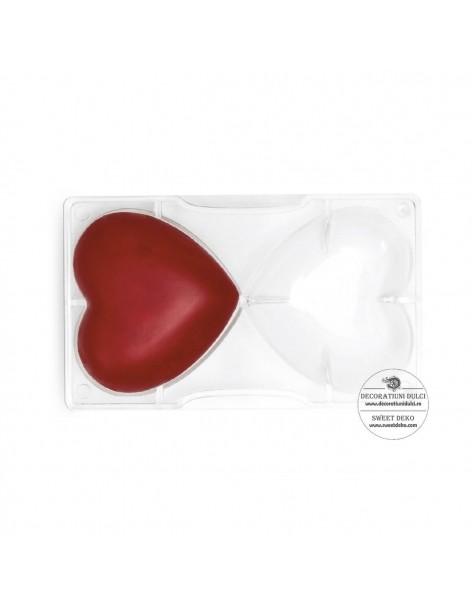 Chocolate Hearts Mold 2 cav