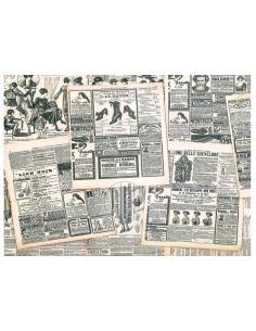 Old newspaper Edible Image