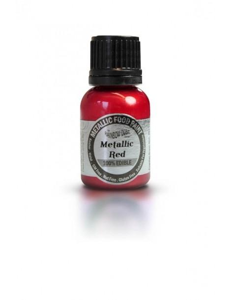 Colorant rosu metalic