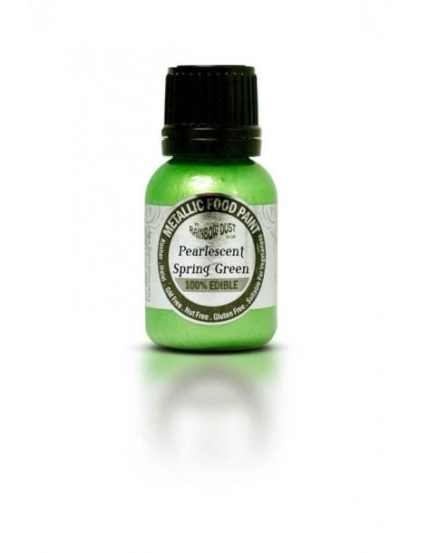 Colorant metalic verde primavara
