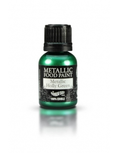 Colorant metalic verde sarbatoare