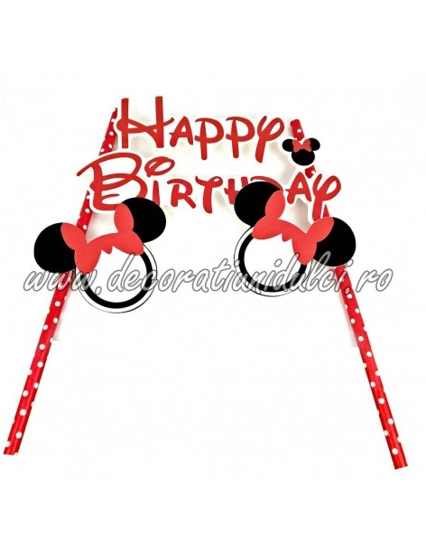 Topper pentru tort Mickey, Minnie