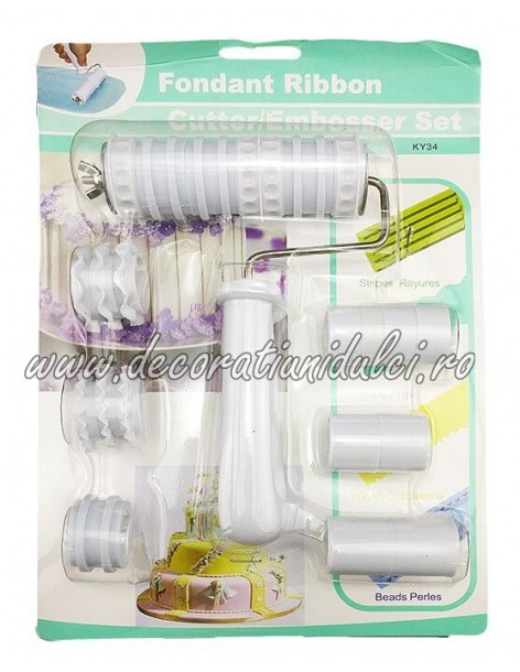 Emboss embroidery set