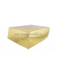Gold Cake Box