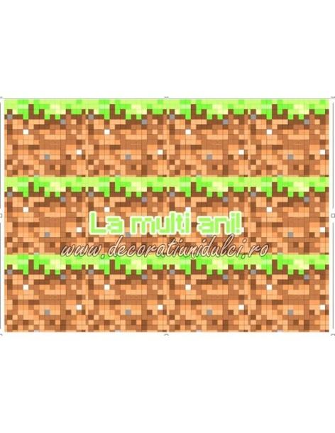 Imagine comestibila benzi  Minecraft