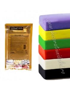 Rainbow sugar paste - IRCA