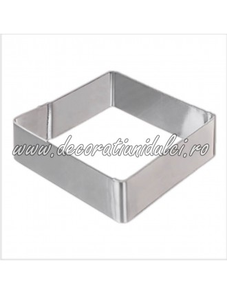 Square metal cutouts,