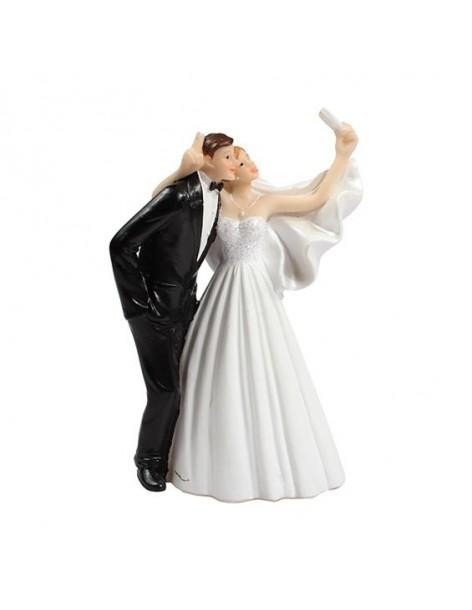 Bride and Groom Figurine...