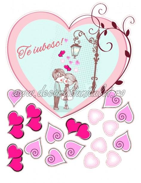 Edible image - Love