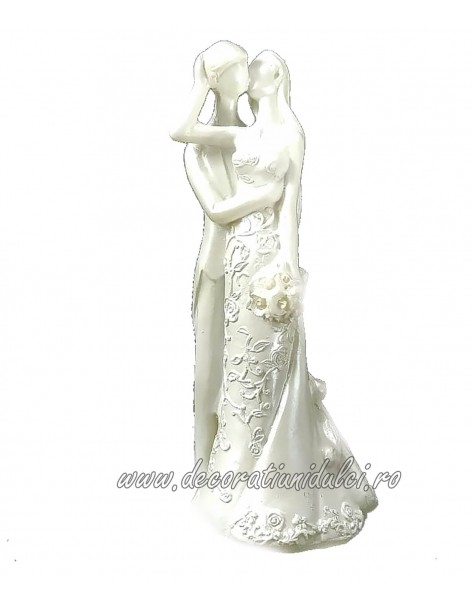 Wedding cake topper, kiss...