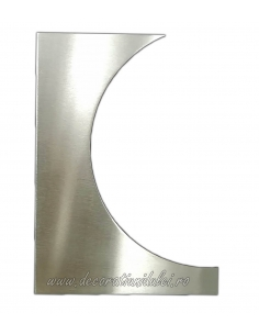 Squeegee cake, rounded edge