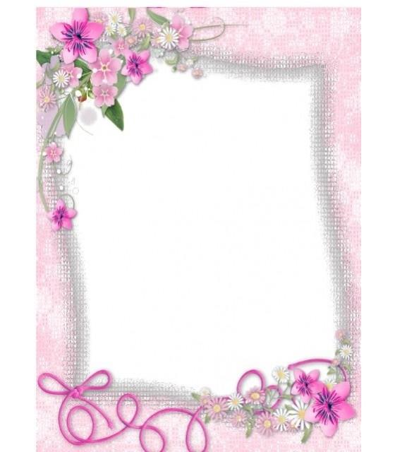 Custom image - Frame Pink