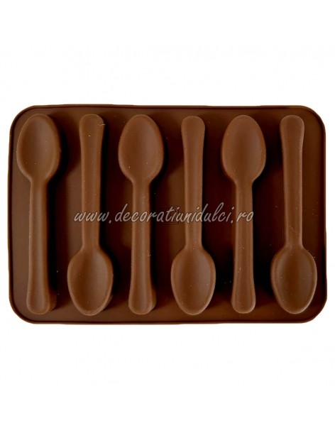 Mold silicone spoons