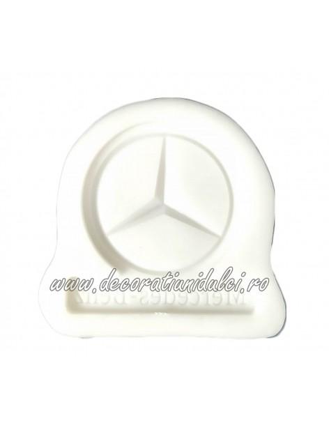 Cast auto logo, Mercedes