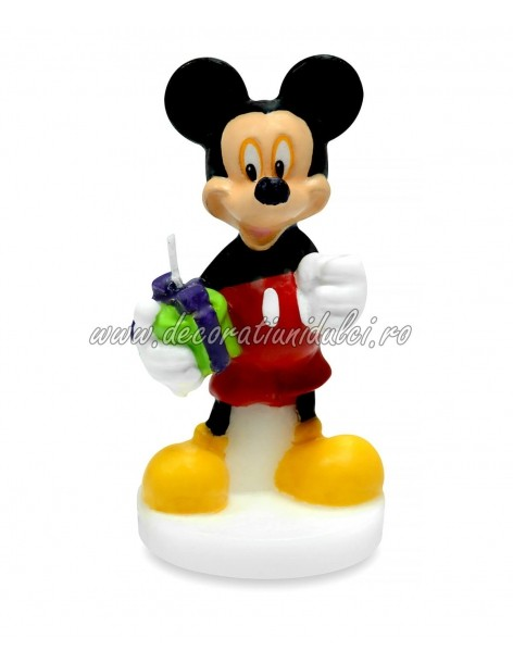 3D Mickey Mouse candle MODEC