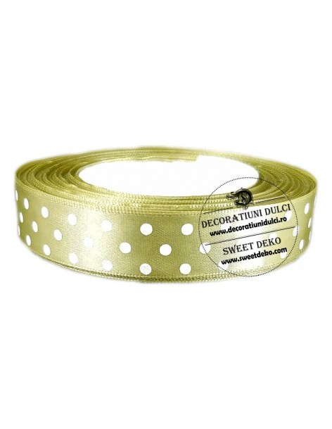 Lime band with dots