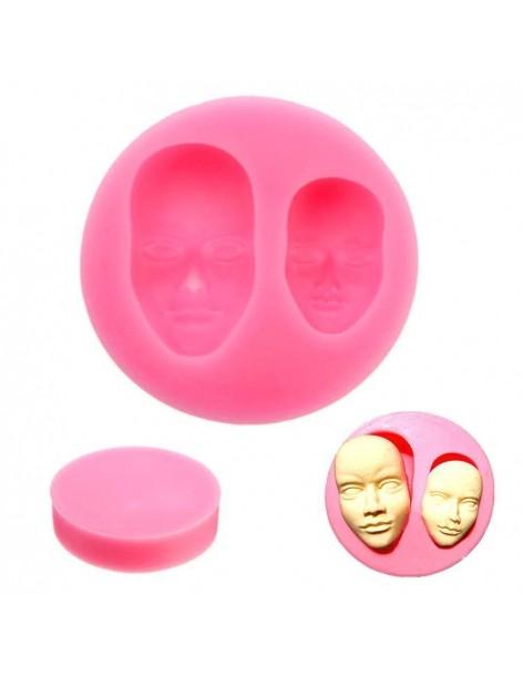 Mold human faces