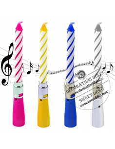 musical candle