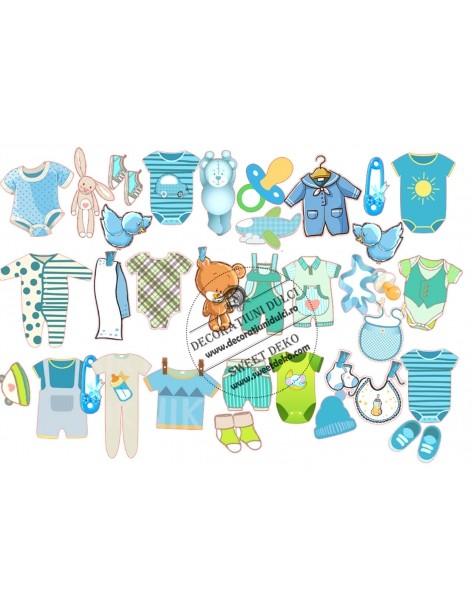Clothes edible image boy