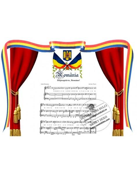 Picture edible Anthem Romania