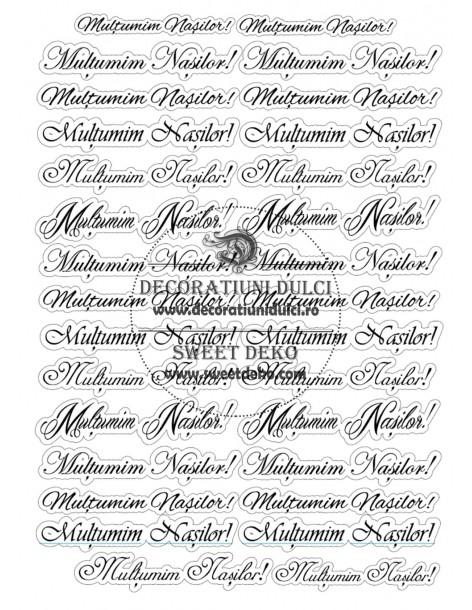 Thank labels Nasilor