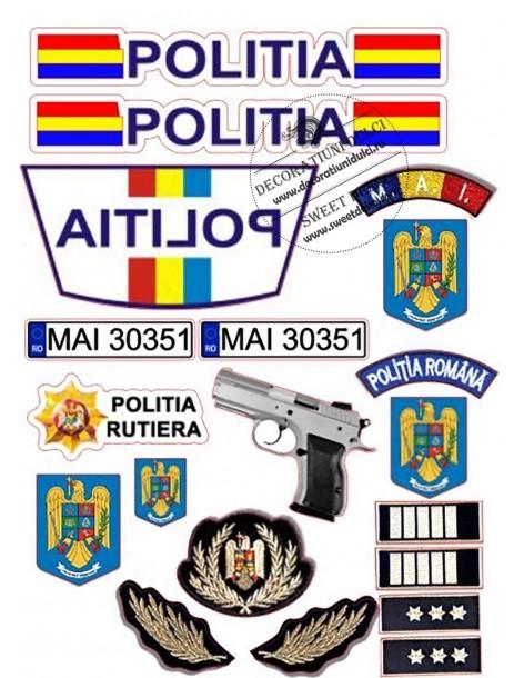 Romanian Police insignia...