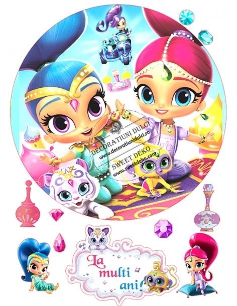 Shimmer and Shine friends