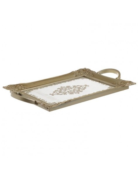 Champagne tray with mirror