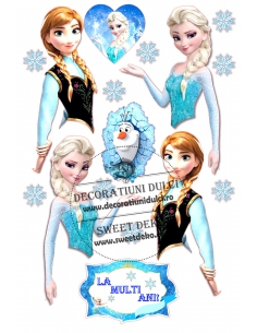 Picture edible Elsa and...