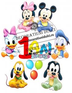Mickey and Minnie babies...