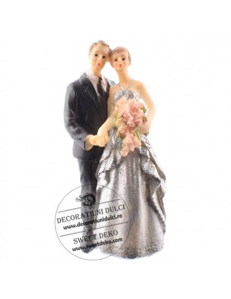 Cake figurines, silver wedding
