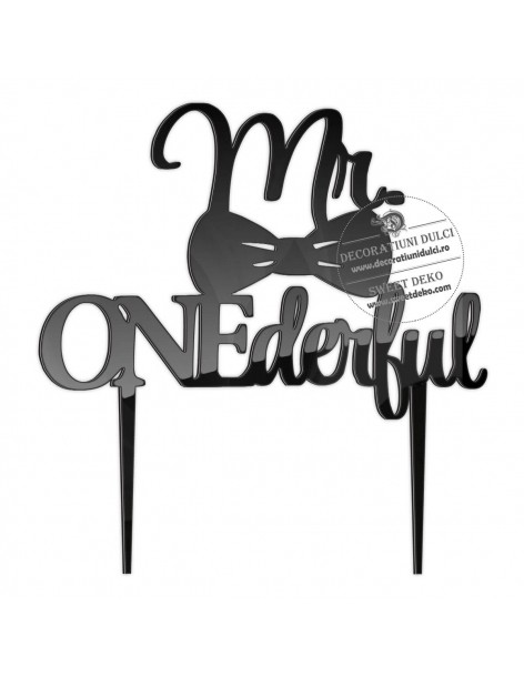 Topper Mr ONEderful with...