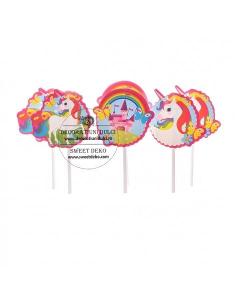 Topper muffins, unicorns