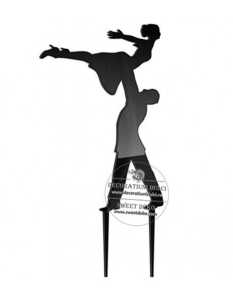 plexiglás Topper Bailarines